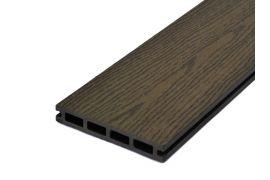 Террасная доска Woodvex Select тёмно-коричневый (Южная Корея)