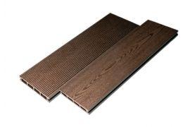 Террасная доска TimberTex Classic (Ю. Корея) темно-коричневая