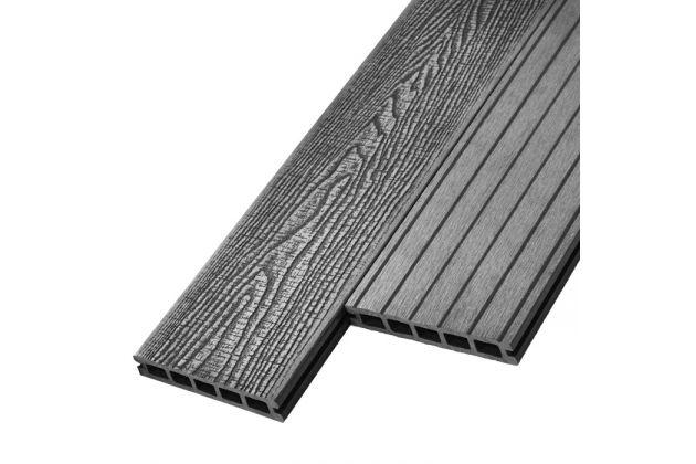 Террасная доска WoodVex Antique stone grey