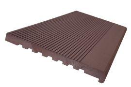 Ступень из ДПК полнотелая Woodvex (Ю. Корея) тёмно-коричневый